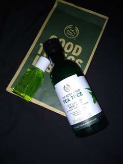 Share in jar the body shop tea tree facial wash 30 ml