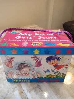My box of girls stuff - australian publisher (5 books)