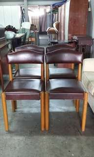 Vintage chair 4pcs (each price)