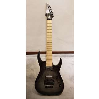 Agile Interceptor Black Flame 7 String Guitar in MINT CONDITION