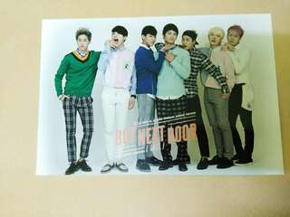 GOT7 Season's Greetings Boys Next Door Postcards