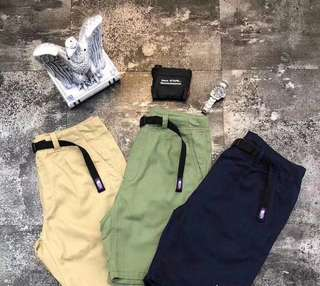 The north face short pants in 3 colors