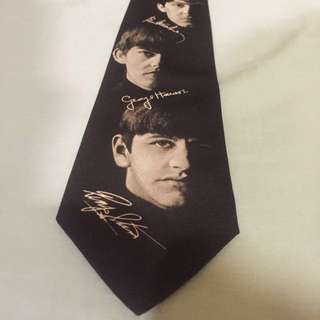 Clearance! Rare Beatles Vintage Signature Ties 1996