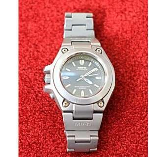 Original jam tangan Casio G Shock MRG-120T rare titanium cocok untuk kolektor item