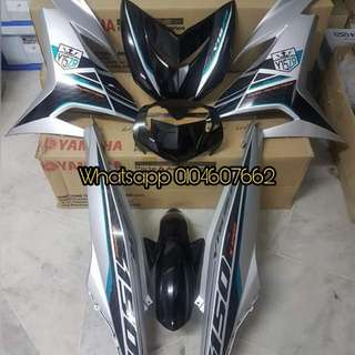Yamaha Y15zr Silver Robot Coverset ORI HLY