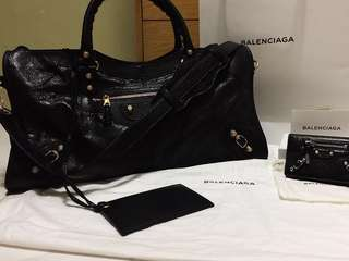 🈹🈹🈹Balenciaga Giant 12 Gold City