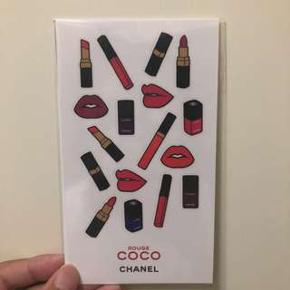 Chanel  coco stickers 貼紙