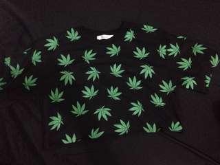 Weed croptop