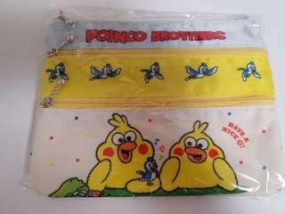 日本DOCOMO 限定化妝袋筆袋 POINCO BROTHERS