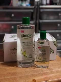 SIMPLE Makeup Remover