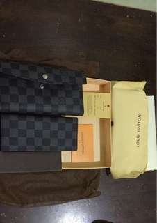 LV trifold wallet