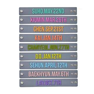 [BEST PRICE] EXO Bracelet the elyxion concert