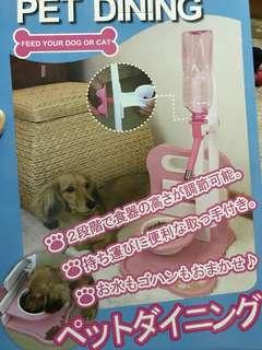 🚚 寵物小餐桌(粉色)