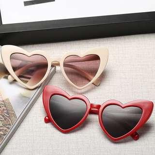 🚚 歐美愛心流行太陽眼鏡