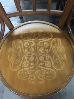 Vintage coffee shop chair (original condition 90%)