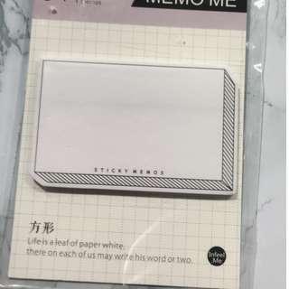 MEMO紙