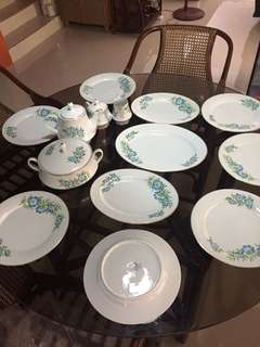 Noritake festival plates, japan 80's