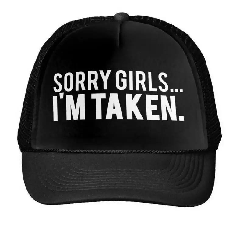 e3291dad7 🆕! Sorry Girls, I'm Taken Black Trucker Cap #OK MTB / Fixie ...