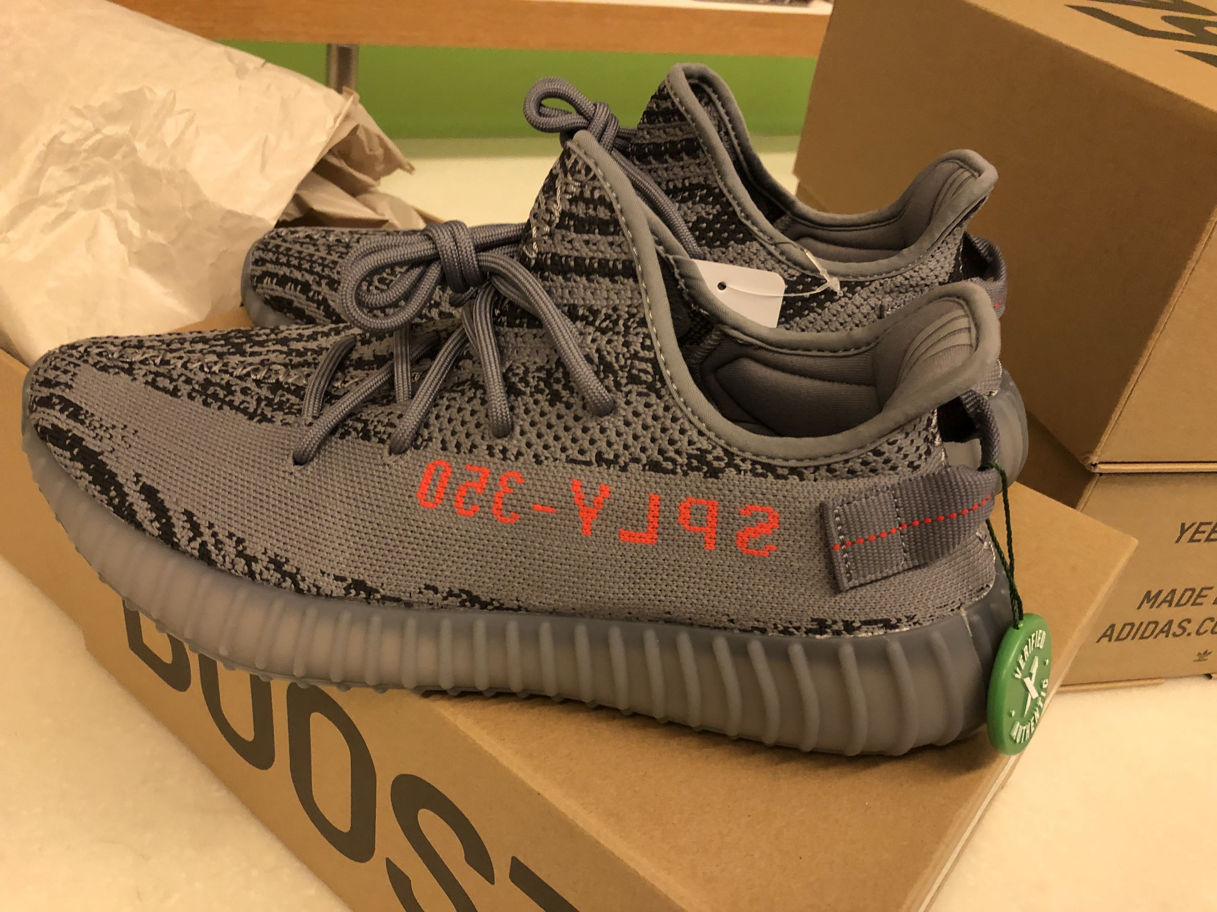 e8b6fa272 Adidas Yeezy Boost 350 V2 Beluga 2.0 UK9.5 US10
