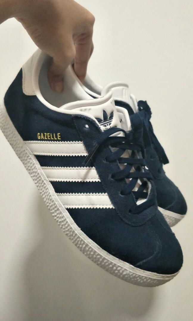 AUTHENTIC Adidas Gazelle Navy Dark Blue