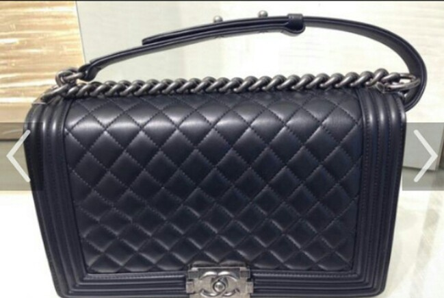 fbf09f19fa8b Reserved - Authentic Chanel Medium Boy, Luxury, Bags & Wallets ...