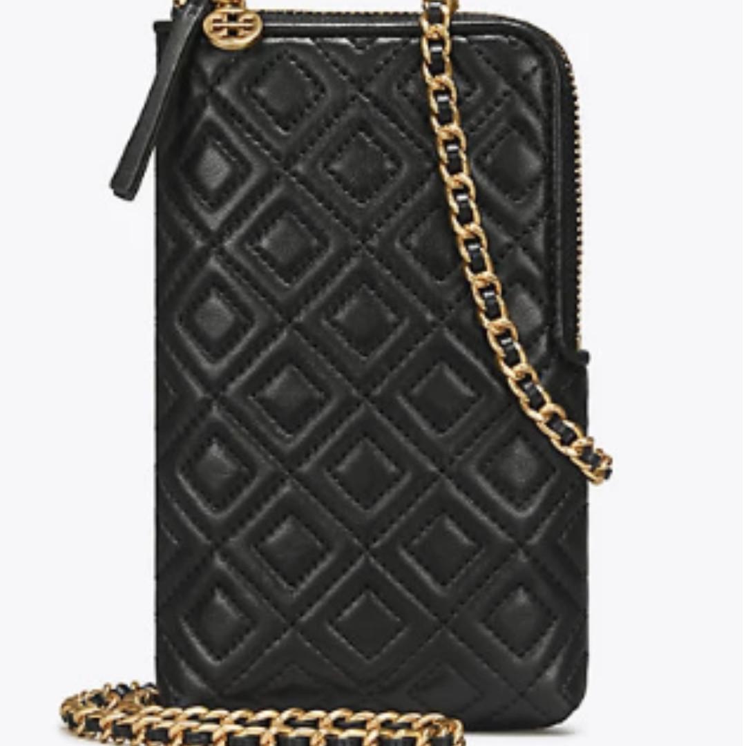 b63b761a4883 Authentic Tory Burch 45142 Fleming Phone Crossbody Sling Bag