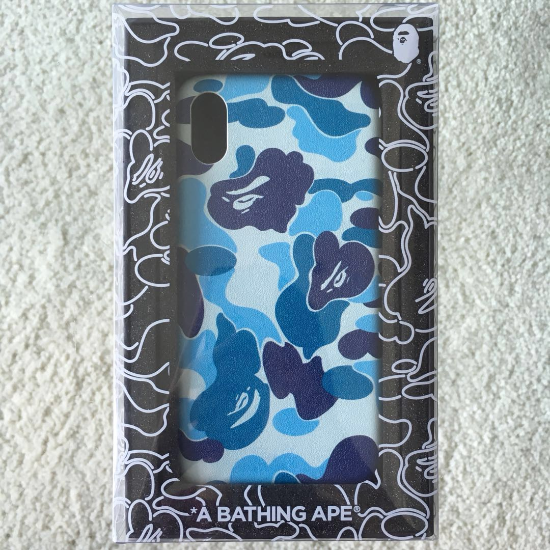 huge selection of 4cbc4 857e4 BAPE ABC CAMO IPHONE X CASE