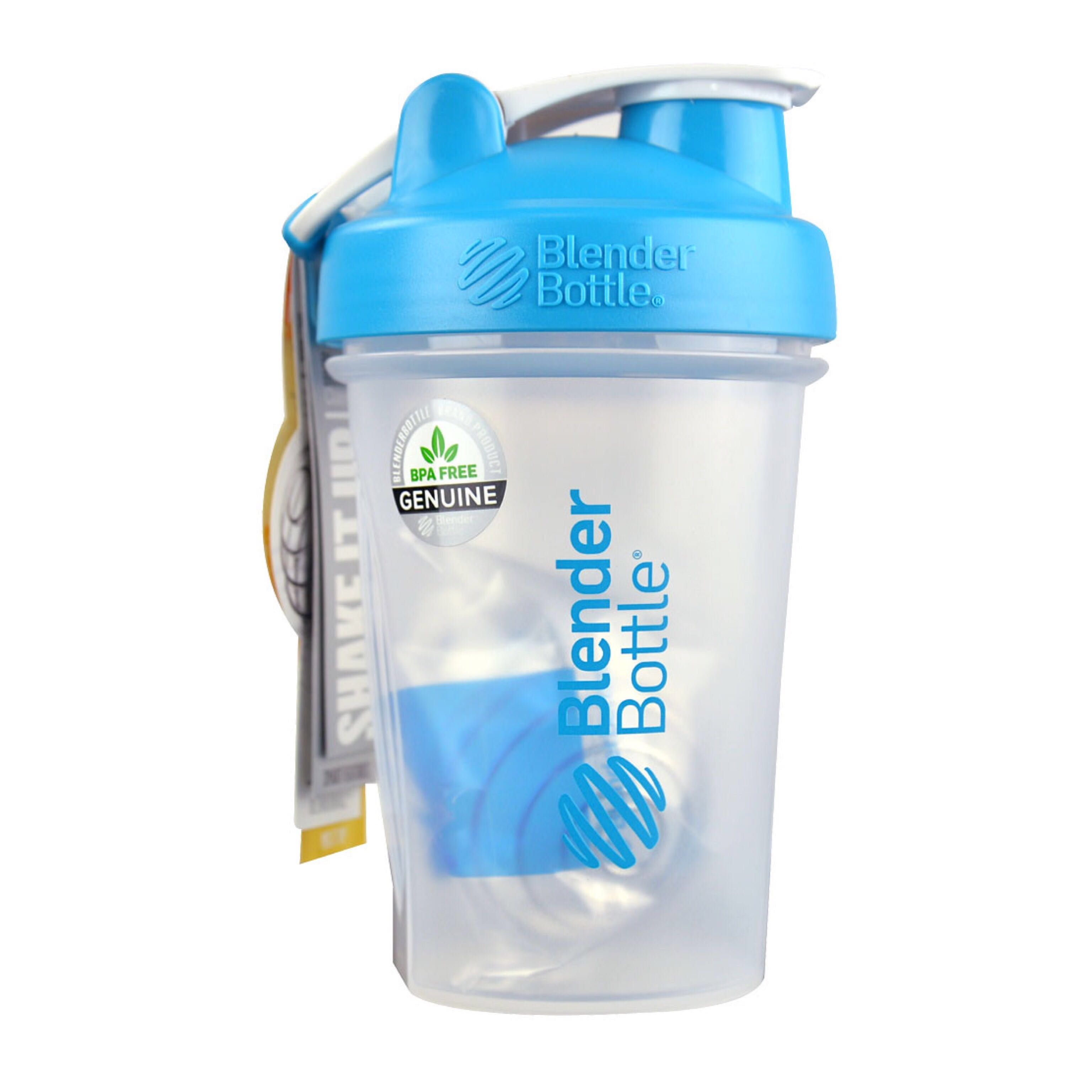 BlenderBottle© Classic 20oz (Aqua Loop) with BlenderBall© Wire Whisk ...