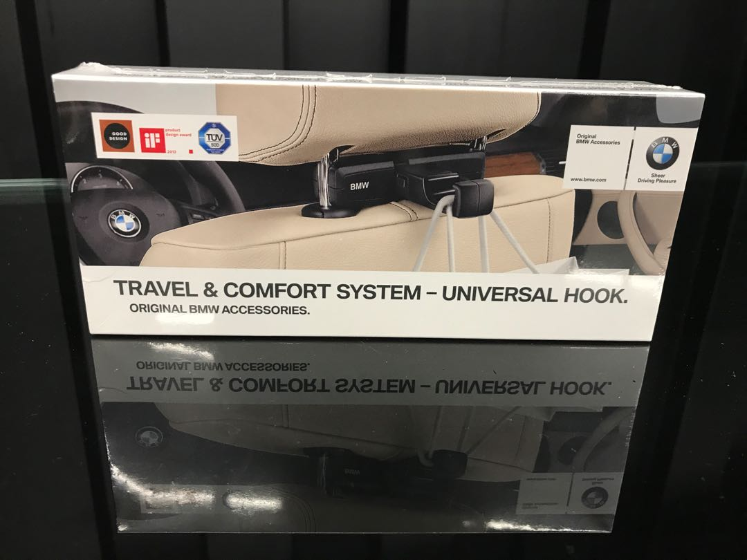 BMW Travel & Comfort - Universal Hook, Car Accessories, Accessories on Carousell