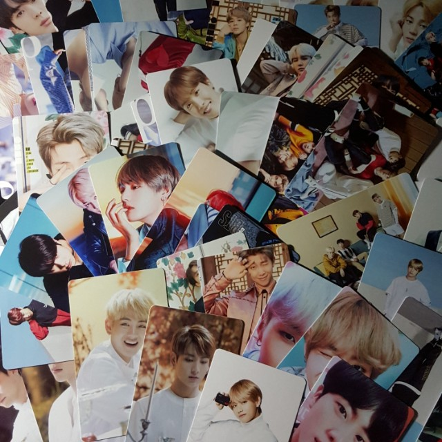 BTS 100PCS PHOTOCARD (DOUBLE PRINTED)
