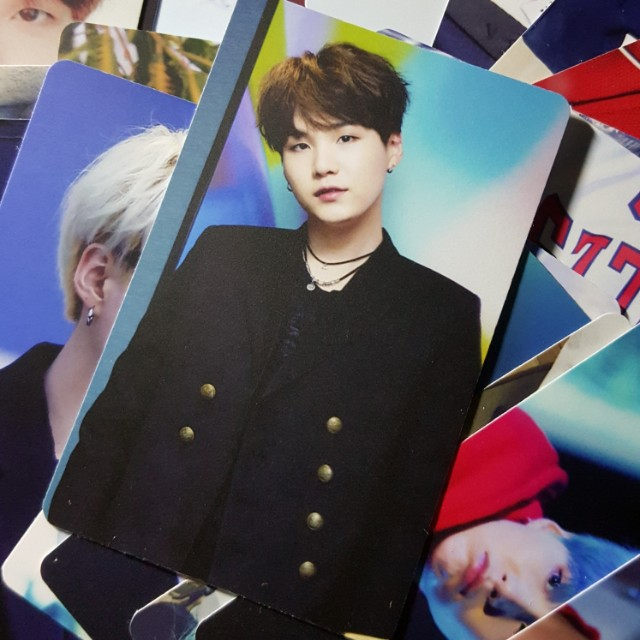 BTS SUGA 100PCS PHOTOCARD