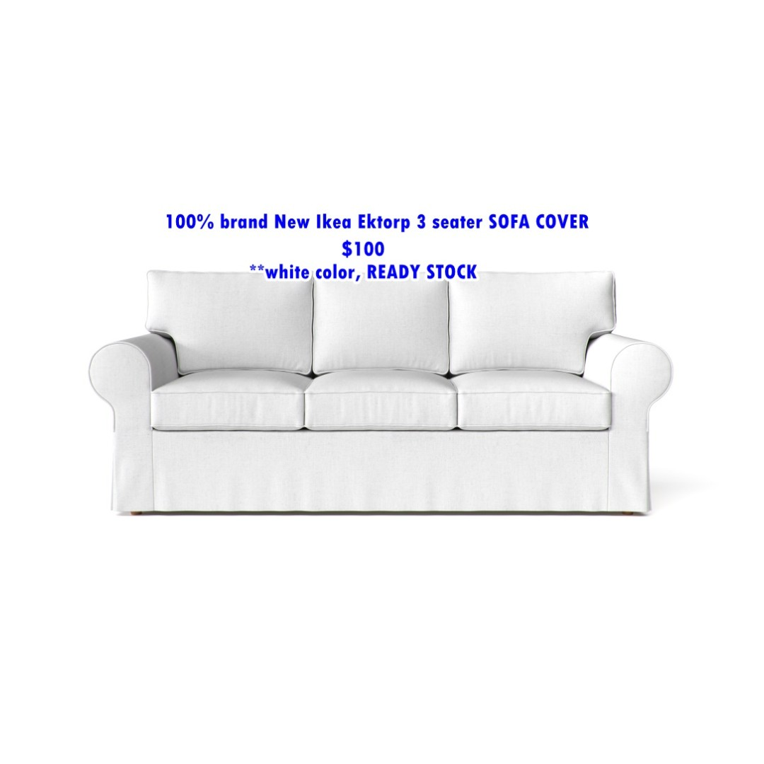Cover 100 Brand New Ikea Ektorp 3 Seater Sofa Cover Furniture