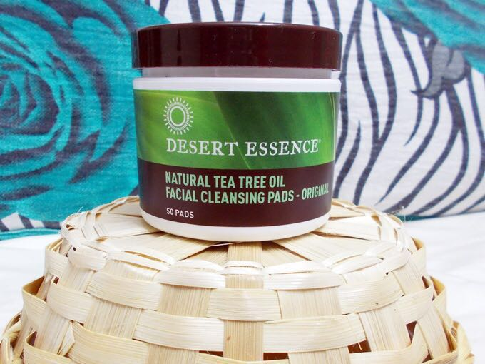 Desert Essence Tea Tree Oil Facial Cleansing Pads Health Beauty