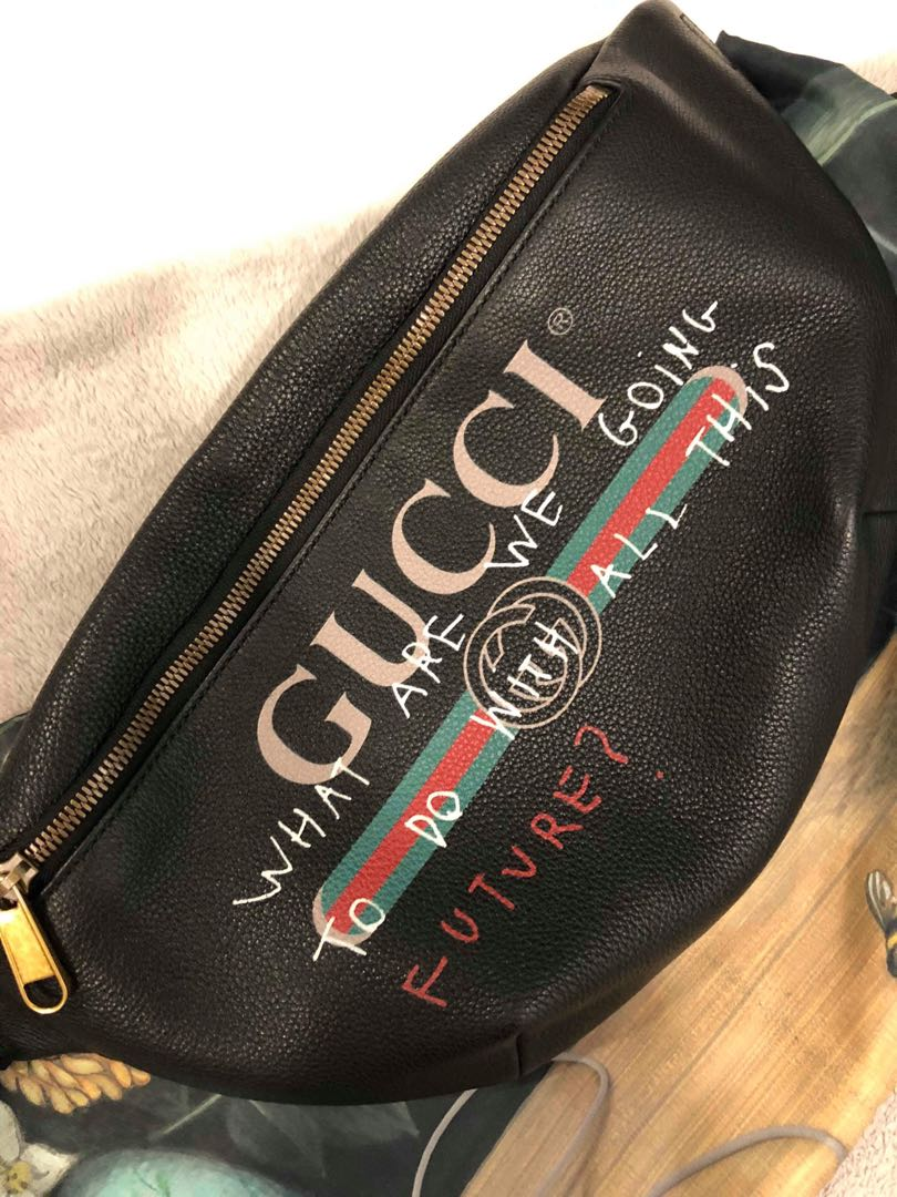 ca4e37c66c5853 Gucci x coco capitan bumbag, Men's Fashion, Bags & Wallets, Sling Bags on  Carousell