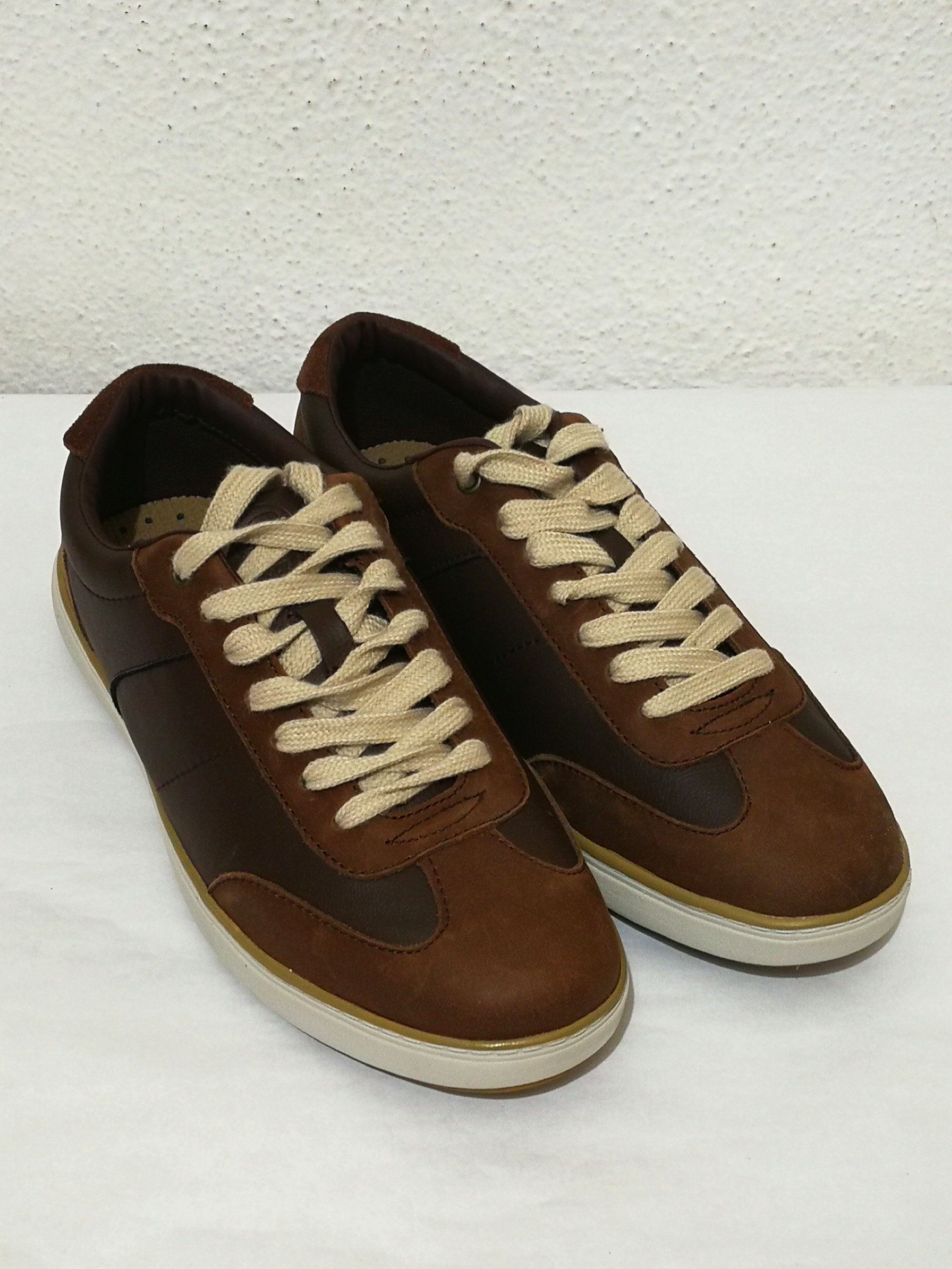 91903abe53520f In Stock Men Casual Brown Leather Shoes