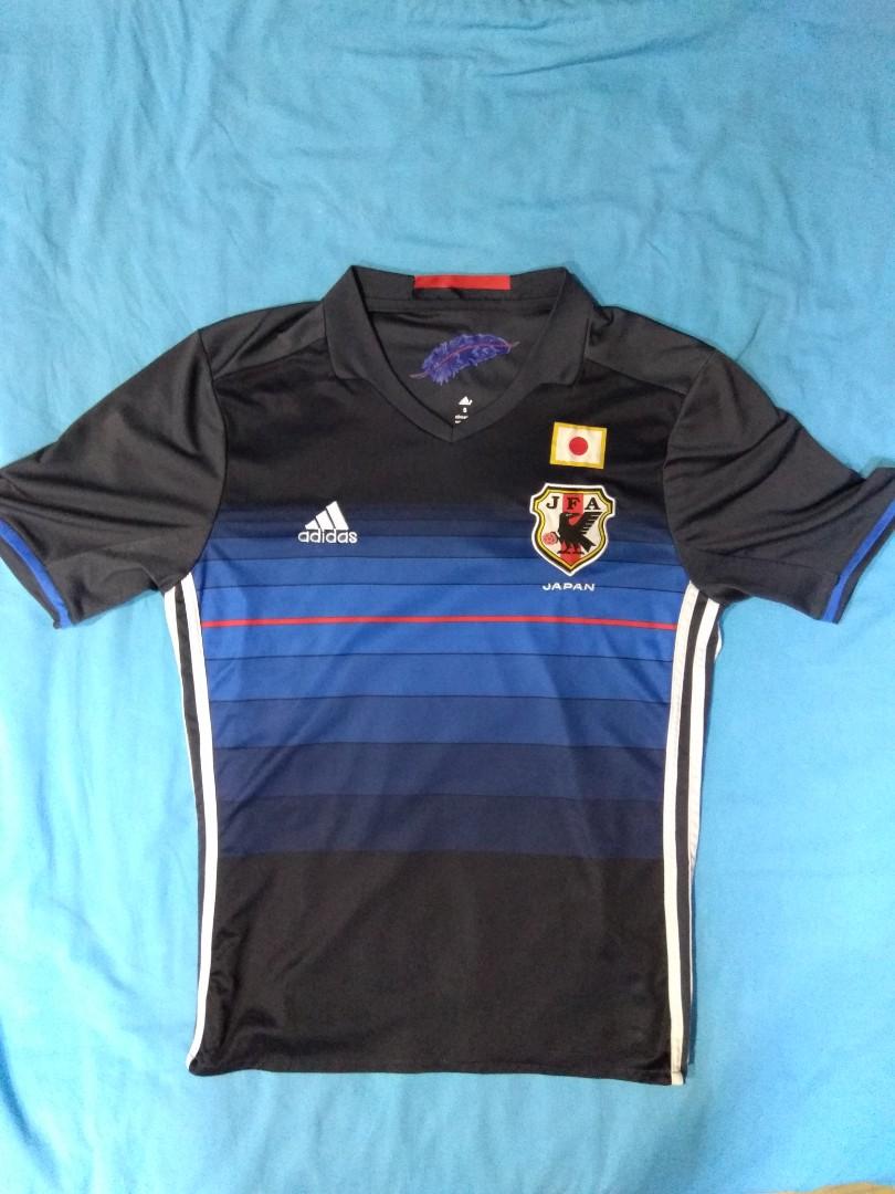 674413fc23c Japan 2016 National Blue Samurai Football Jersey Shirt