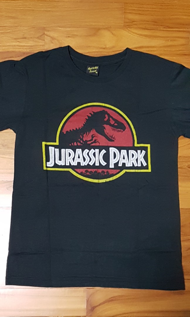 Jurassic Park T Shirt Men S Fashion Clothes Tops On Carousell