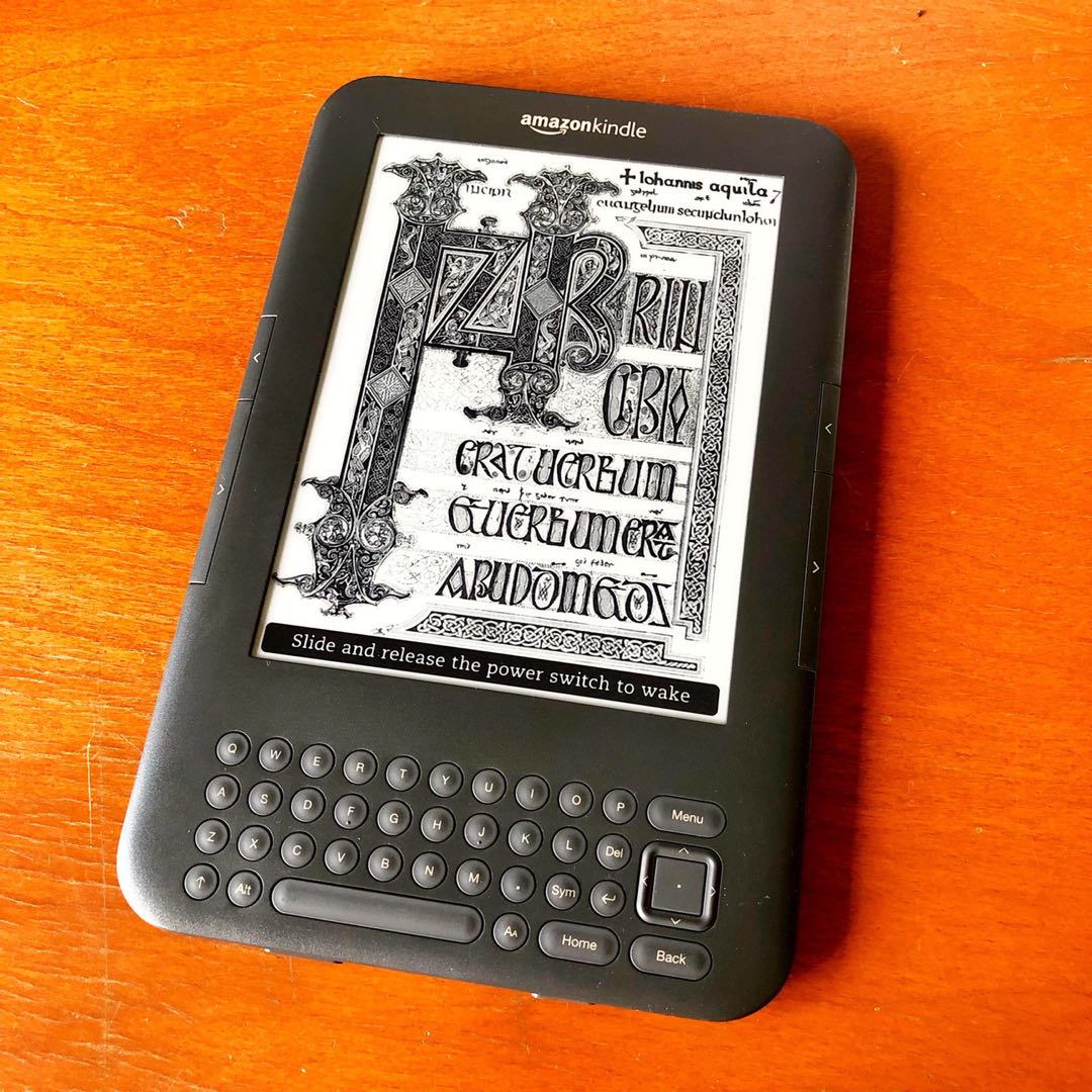 Kindle Keyboard 3rd Gen E-Reader