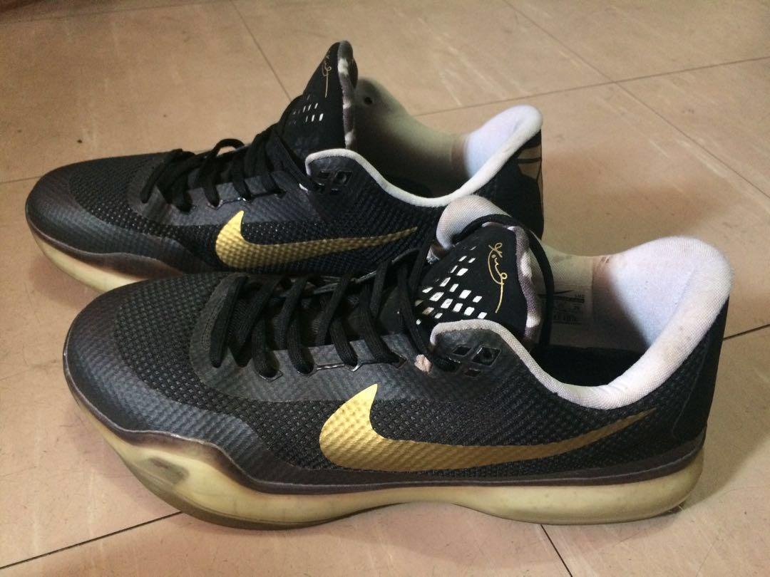 Kobe 10 Black Gold (Drew League) e451c1bd04