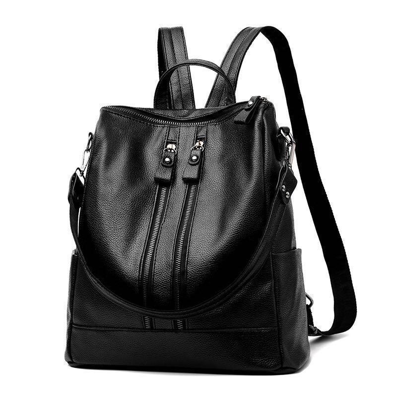 21c59cba75 Korean Leather Backpack  BRAND NEW