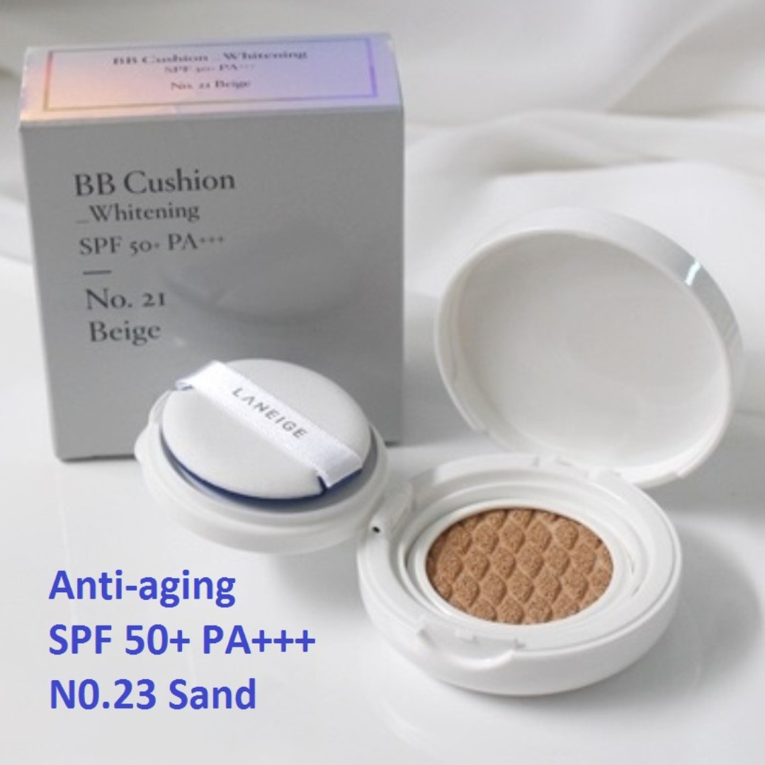 Sold Out Laneige Bb Cushion Anti Aging Spf 50 Pa No 23 Sand 5g