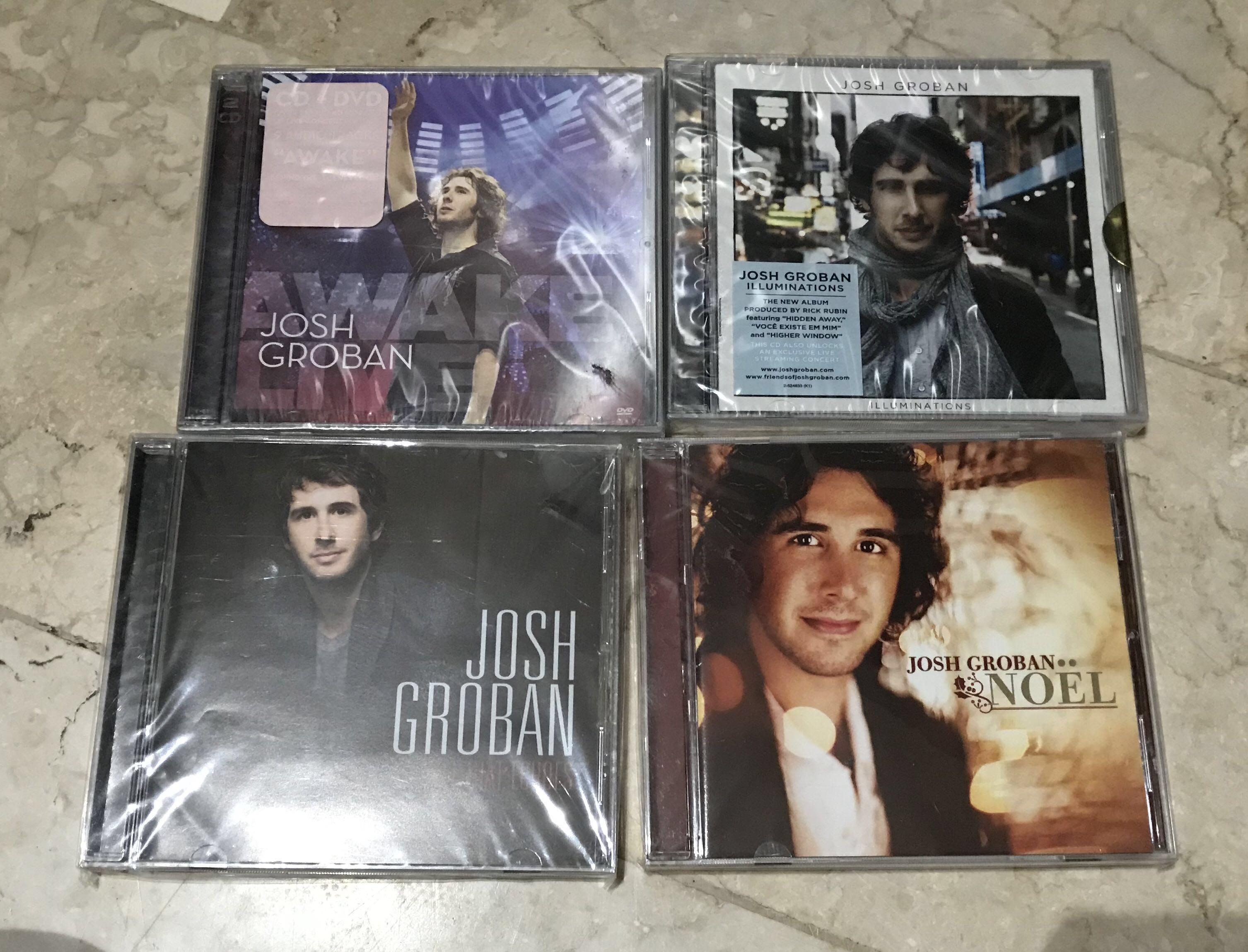Lots Of Josh Groban Album, Music & Media, CD\'s, DVD\'s, & Other Media ...