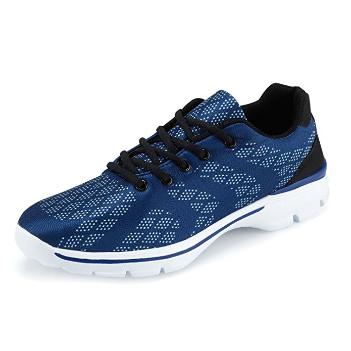 164998300b4 Men s Lightweight Breathable Running Tennis Sneakers Casual Walking ...