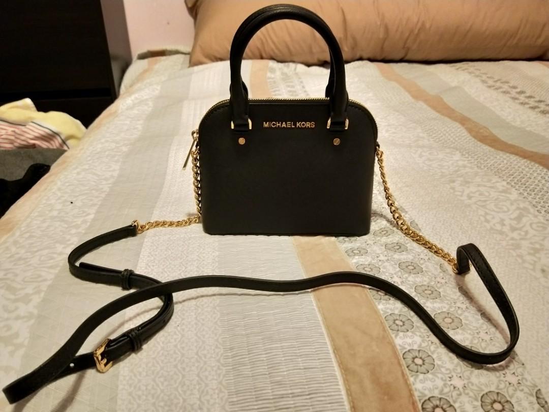 Michael Kors bag top handle black