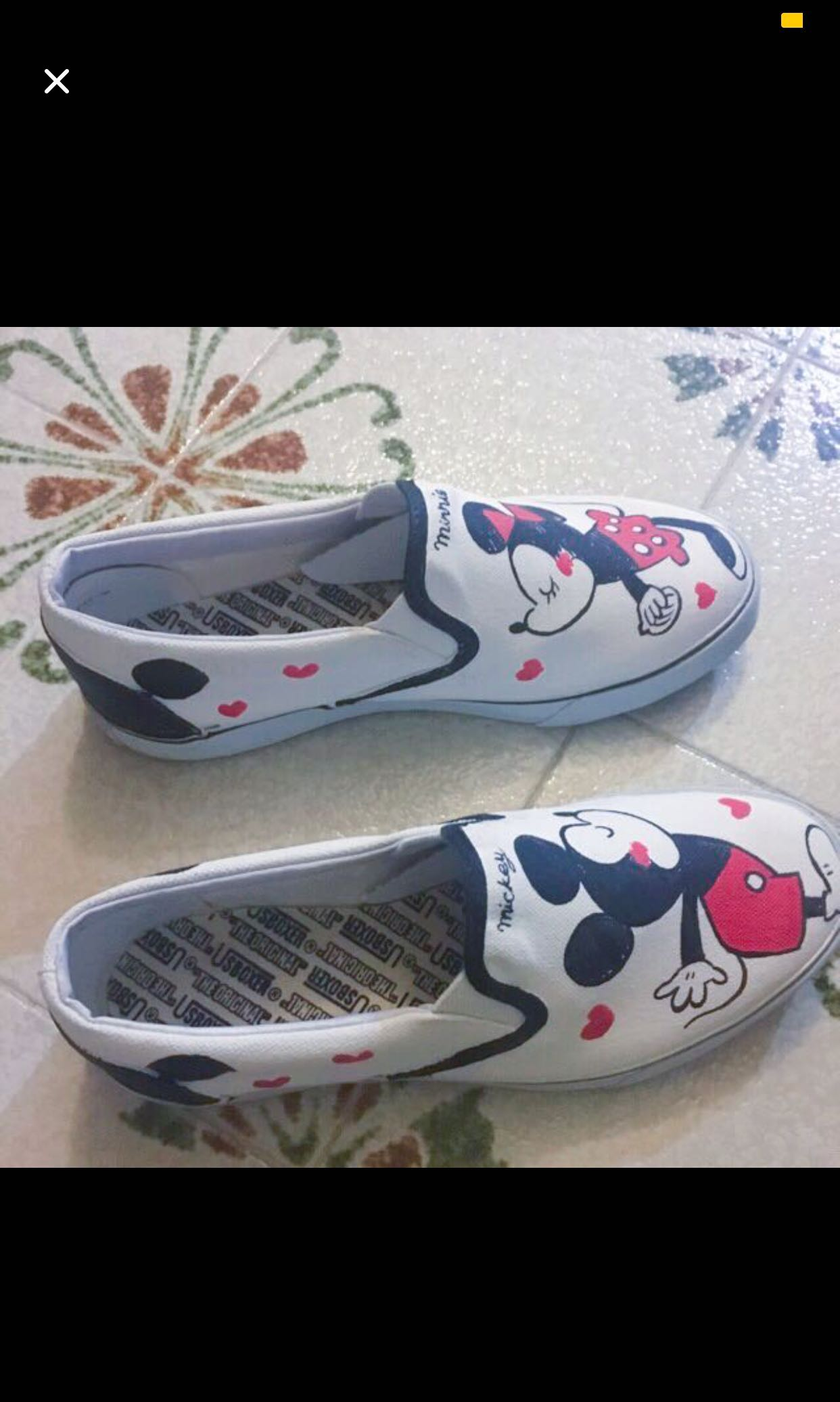 Mickey Mouse shoes, Women's Fashion, Shoes, Sneakers on