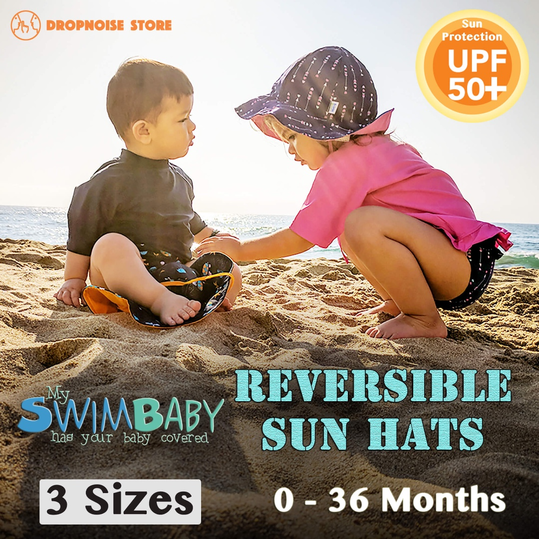 My Swim Baby Reversible UV Protection Sun Hats (0 to 3 Years Old ... c450b0b854e