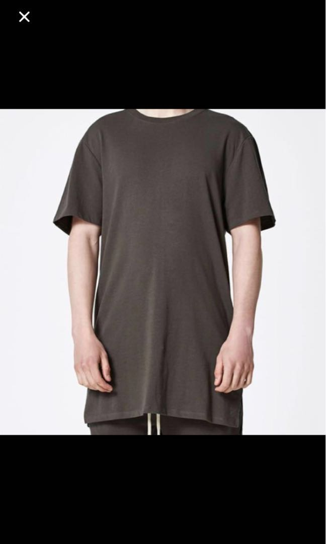 350fd9f1 🔥NEGO🔥FOG Fear of God x PacSun T-Shirt (Washed Black/ Raven ...