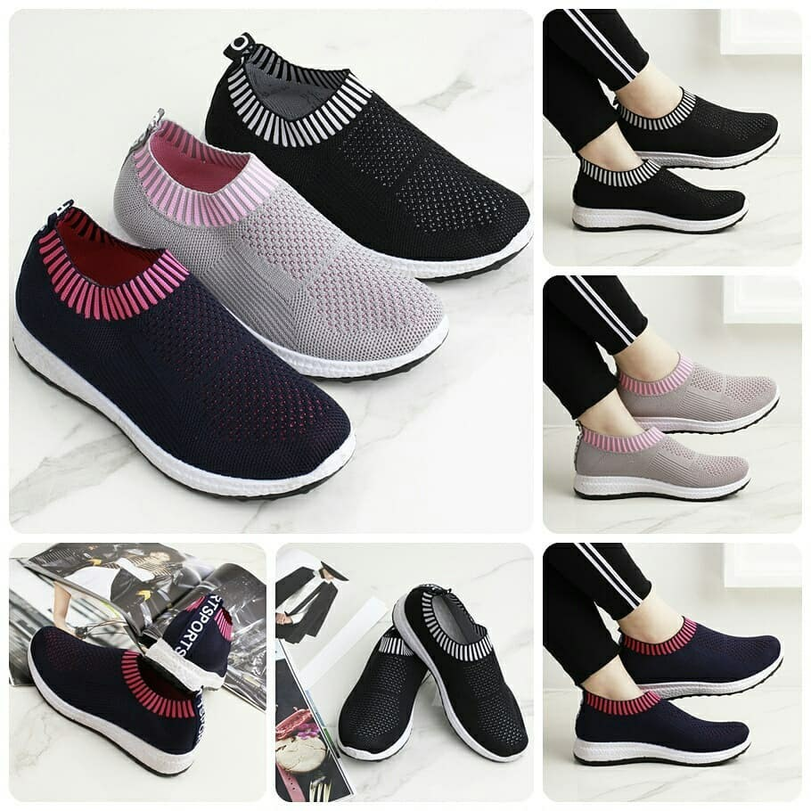 Arrival Charlize Fashion Sneakers Knit