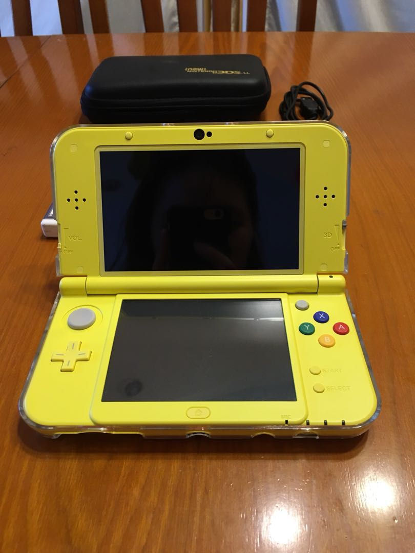 New Nintendo 3ds Pikachu Yellow Edition Plus Two Games Toys Xl Video Gaming Consoles On Carousell