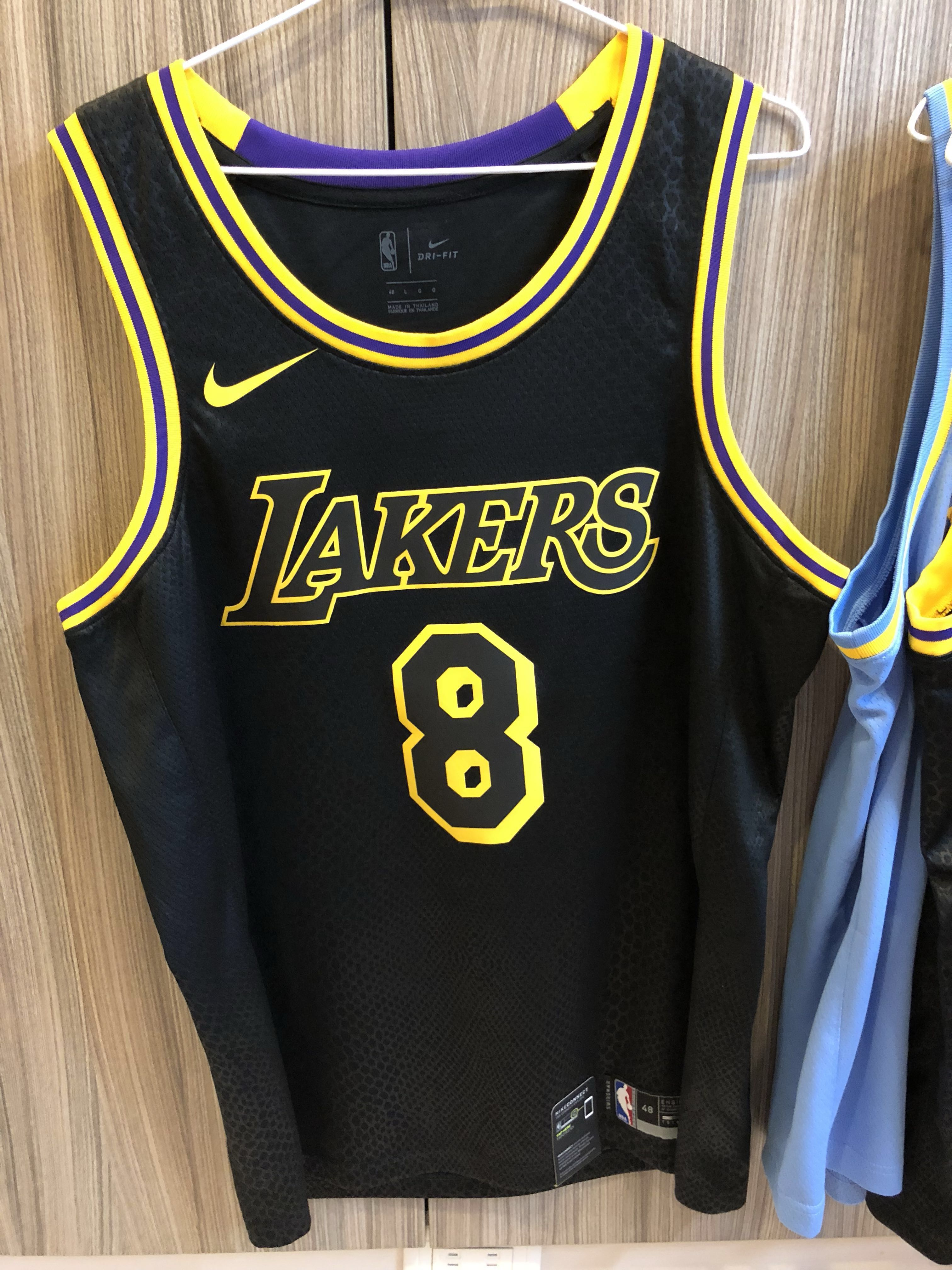 best sneakers 3ee47 a2bf0 Nike Kobe Bryant Los Angeles Lakers Jersey City Edition #8